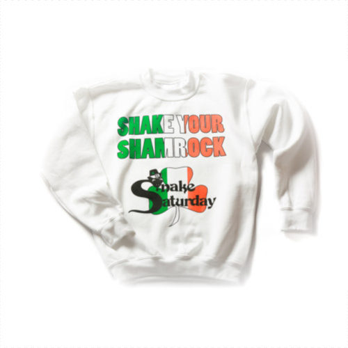Snake Saturday 200 Shake - White Sweatshirt