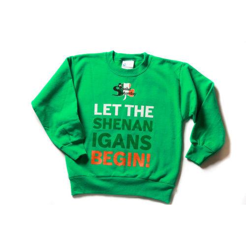 Snake Saturday 300 Shake - Green Sweatshirt