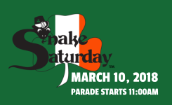 Snake Saturday Parade Logo
