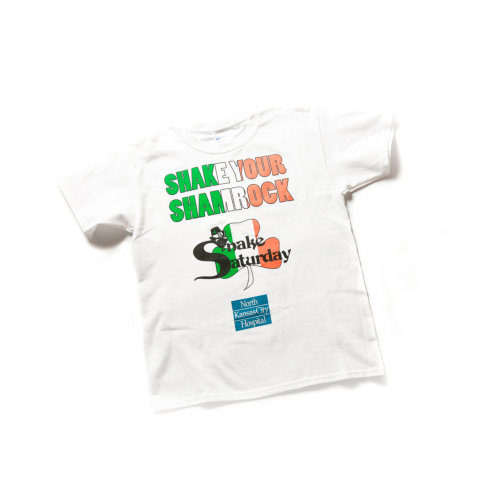 Snake Saturday 200 Shake - White Tshirt