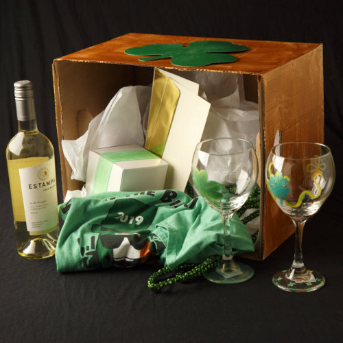 50 wine party box