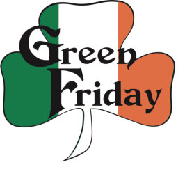 snake green friday logo
