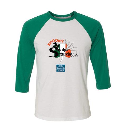 Spooky Snake Saturday - T Shirt ¾ sleeve